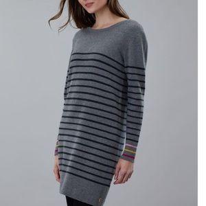 Tunic Sweater Joules Estelle Knit grey - LAST ONE
